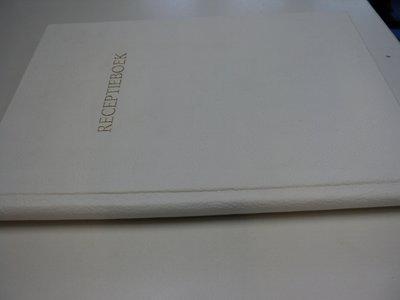 leren receptieboek kopen