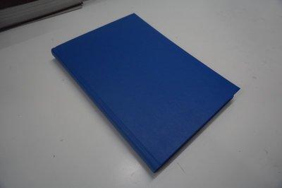 blauw linnen boek a4