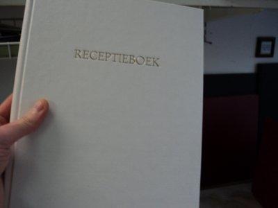 Gastenboek receptie boek