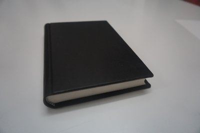 Leather blank notebook sale
